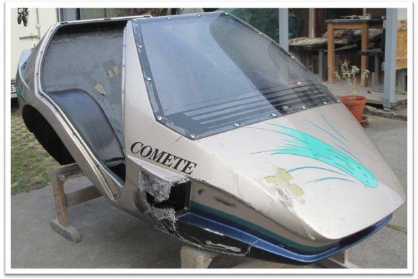 Reparatur Sidebike Comete